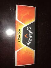 New listing Callaway HX Hot Plus Golf Balls New In Box 3 piece *BRAND NEW IN BOX*