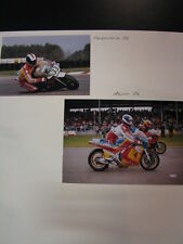 Photo Collage Padgett's Suzuki RGB500 1986 #4 Mark Phillips (GBR) 2x