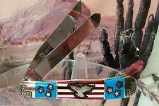 David Yellowhorse Freedom Eagle Case Trapper
