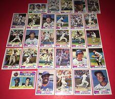 1982 Topps New York Mets Team Set (28 Cards) - NRMT-MT STAUB-MOOKIE WILSON