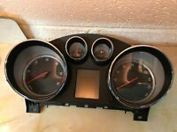 Vauxhall Insignia A 2009 2.0 CDTI Instrument Cluster 12844136