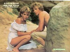 CHRIS ATKINS KRISTY McNICHOL PETER GALLAGHER PINUP CLIPPING FROM A MAGAZINE