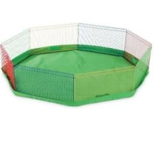 Small Animal Guinea Pig Pet Exercise Portable Playpen Panel Indoor Gerbils Cage