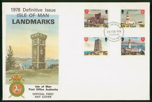 Mayfairstamps Isle of Man FDC 1978 Landmark Combo Douglas First Day Cover wwp_64