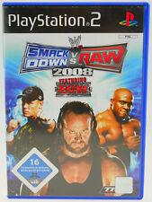 WW Smack Down vs Raw 2008 completamente en OVP PlayStation 2 ps2