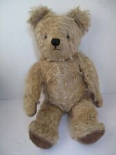 Antique 1920s Jointed  Mohair Teddy Bear 17 inches Exc.