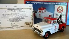 US Olympic team TEXACO TOW TRUCK CHEVROLET pick up - MATCHBOX 1:43