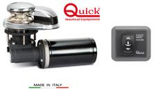 salpa ancora Quick DP1 500w 12v 6mm + nuovo comando da plancia mod 810