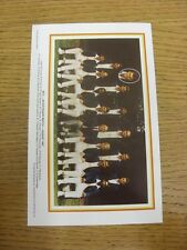 "1987 Cricket: MCC - Bicentenary Match Team Group Picture, 8""x 5"". Thanks for vie"
