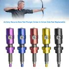 Archery Recurve Bow Pad Plunger Screw-In Arrow Side Pad Replaceable YU