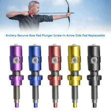 New listing Archery Recurve Bow Pad Plunger Screw-In Arrow Side Pad Replaceable YU