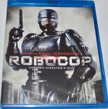 Paul Verhoeven 1980's Sci Fi Classic Robocop Bonus Unrated Director's Cut Bluray
