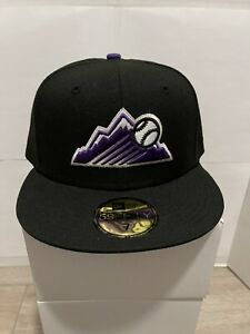 Hat Club Exclusive COLORADO ROCKIES 20TH Anniversary Patch NEW ERA 59FIFTY - 7