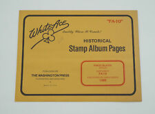 """New White Ace Stamp Album Pages 1988 Faroe Islands Singles Supplement """"FA-10"""""""