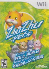 Zhu Zhu Pets: Featuring the Wild Bunch (Nintendo Wii, 2010) LN Manual SHIPS FAST