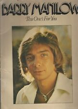 """Barry Manilow Song Book """"This One's For You"""" 83-2597 Kamakazi/Big 3~ G429"""