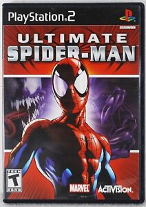 Playstation 2 Ultimate Spider-Man - Complete With Case, Disc and Manual
