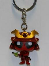 FUNKO POCKET POP KEYCHAIN MARVEL BOBBLE-HEAD DEADPOOL SAMURAI