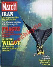 Paris Match n°1527 du 01/09/1978 Mongolfière Double Eagle II Iran Sha Prague