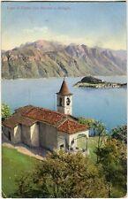 1910 Como - Lago di Como, San Martino e Bellagio, monti - FP COL VG