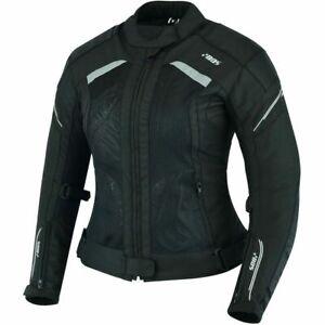 Damen Motorradjacke, Sommer Textiljacke, Neue Touring AirMesh Textiljacke