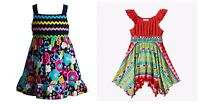 NWT Youngland Toddler Girl Fun & Colorful Summer Dresses Sizes 2T 3T