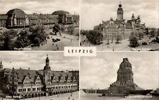 Postcard - Leipzig - Famous Bulidings - Former German Democratic Republic