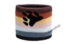 Schweißband Fahne Flagge Gay Pride Bear 7x8cm Armband für Sport