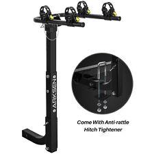 Premium 2-Bike Carrier Rack Hitch Mount Swing Down Bicycle Rack W/2