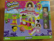Shopkins Kinstructions Bakery Playset NIB sealed 193 pcs
