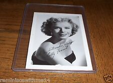 BEAUTIFUL ACTRESS  SALLY FORREST 1958 PUBLICITY SHOT PHOTO - VINTAGE -RARE