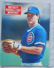 August 1990 Becket Baseball Monthly Ryne Sandberg Chicago Cubs