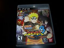 Replacement Case (NO GAME) NARUTO SHIPPUDEN ULTIMATE NINJA STORM 3 PS3