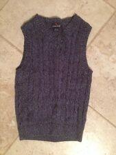 "Class Club Unisex Kids Sweater 10/12 100% Cotton Sleeve-less 28"" chest Free Ship"