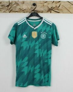 Maillot Football Vintage adidas Allemagne Taille S (Cod.T12) Used Vert Fifa 2014