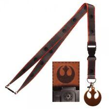 Star Wars The Last Jedi Rebel Logo Neck Lanyard ID Badge Holder Episode 8 NEW