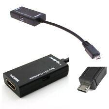 Micro Usb Mhl A Hdmi Adaptador Hdtv Cable Para Samsung Galaxy S3 I9300 Note2 N7100
