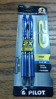 G2, PREMIUM GEL ROLLER, FINE, 0.7mm, BLUE INK, SUPER SMOOTH, REFILLABLE