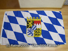Fahnen Flagge Bayern Wappen - 90 x 150 cm