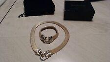 NWB WOMEN'S NECKLACE & BRACELET SET GOLD TONE BY JOAN RIVERS COLLECTION !!! QTQT