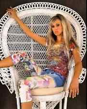 Blumen Capri Muster Leggings Leggins Treggings Leggin bunt farbig 34-36 S 11119