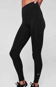 Nike One Tights Ladies Black UK Size 12 M *REF178
