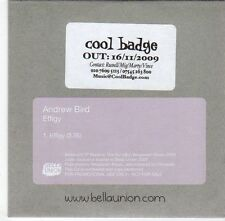 (EM445) Andrew Bird, Effigy - 2009 DJ CD