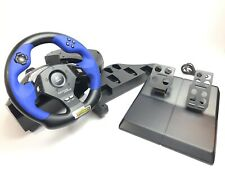 Logitech E UC 2 Driving Force  Gran Turismo PS2 Steering Wheel NO Power Adapter