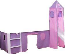 Turmgestell 4 tlg. Stoffset Cinderella für Hochbetten Spielbetten
