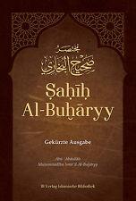 Sahih Al-Buharyy Bukhari Gekürzte Ausgabe Deutsch+Arabisch*Muslim Islam Hijab*
