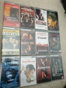 Psp movies bundle x 12 new sealed