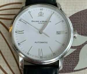 Baume Mercier Classima Executive Automatic Mens Watch Model 65554 Swiss Made