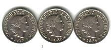 Switzerland Lot 3 Coins 5 Rappen 1932/33/34. KM#26