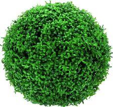 2 migliore Artificiale 40cm Lush Lungo Foglia Di Bosso di topiaria PALLINE d/'erba da appendere